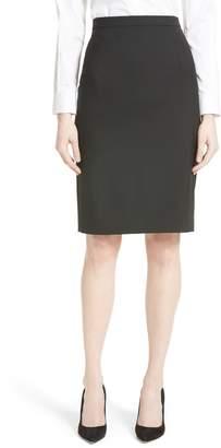 Theory Hemdall B Good Wool Suit Skirt