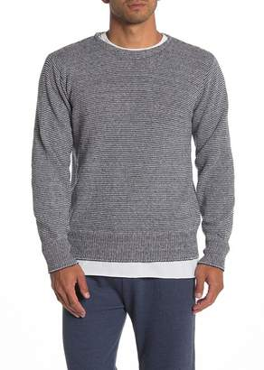 Save Khaki Crew Neck Knit Sweater