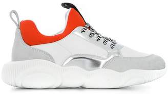 Moschino colour-block sneakers