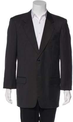 Gianni Versace Woven Two-Button Blazer