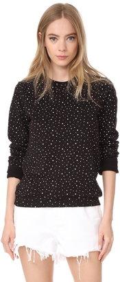 ElevenParis Stars All Over Sweatshirt $77 thestylecure.com