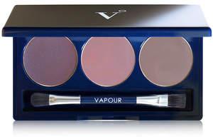 Vapour Organic Beauty Artist Eye Palette - Murmur - smoky brown smoky plum and grayed taupe