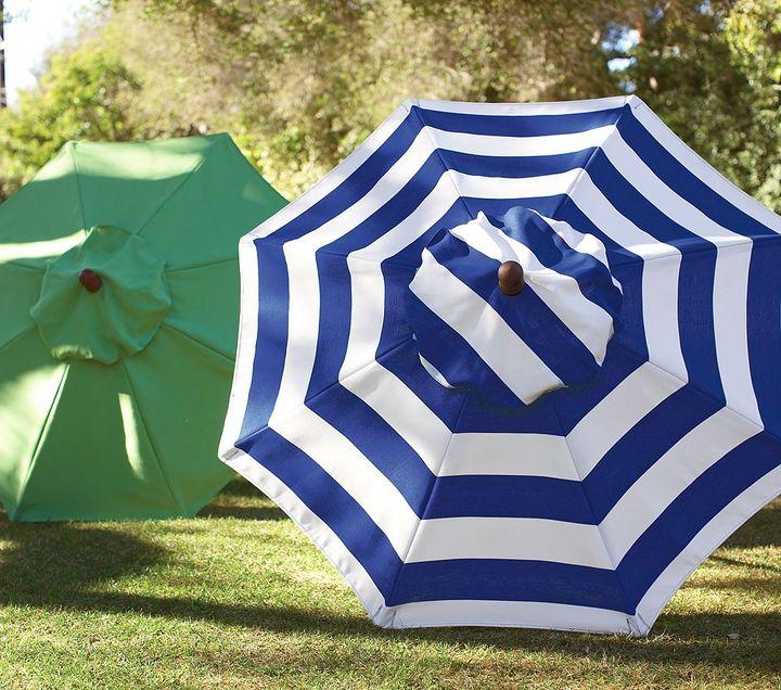 Chesapeake Round Green Umbrella