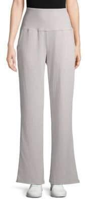 Nanette Lepore High-Waist Wide Leg Sweatpants