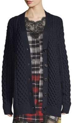 Marc Jacobs Cable Knit Cardigan
