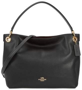 Coach Clarkson Black Leather Hobo Bag