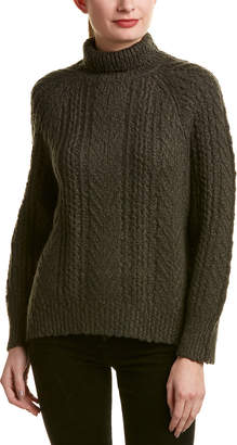 Vince Turtleneck Wool & Cashmere-Blend Sweater