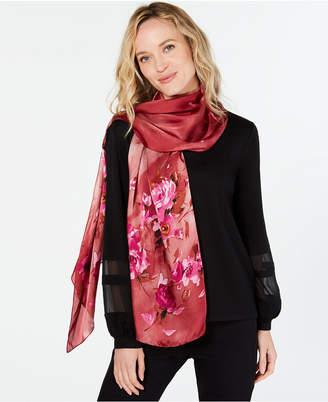 Vince Camuto Ombre Tea Rose Silk Oblong Scarf