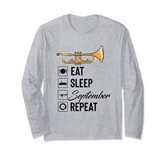 Eat Sleep September Repeat Long Sleeve shirt