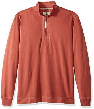 True Grit Men's Cotton Washed Heather Fleece Pullovers Stitch Details