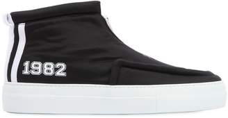 Joshua Sanders High Top Sneakers W/Zip