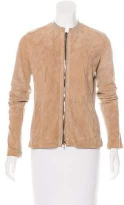 Pauw Suede Zip-Up Jacket