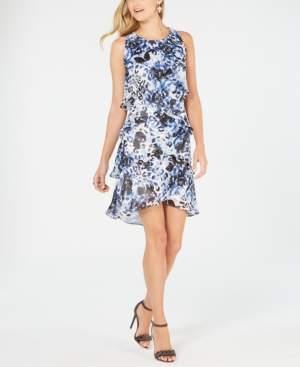 SL Fashions Tiered Shift Dress