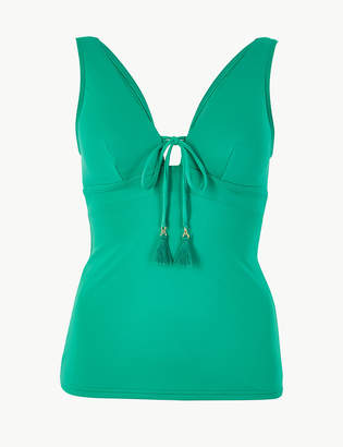 Marks and Spencer Non-Wired Plunge Tankini Top