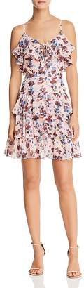 Rebecca Minkoff Marla Ruffled Floral Dress
