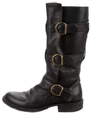 Fiorentini+Baker Leather Moto Boots