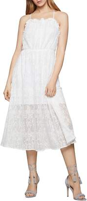 BCBGeneration Lace Strappy Fit--Flare Dress