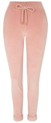 George Pink Velour Pyjama Bottoms