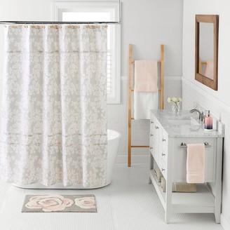 Lauren Conrad Pale Blossom Shower Curtain