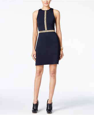 MICHAEL Michael Kors Studded Sheath Dress $155 thestylecure.com