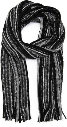 Aston Grey Raschel Oblong Scarf - Men's