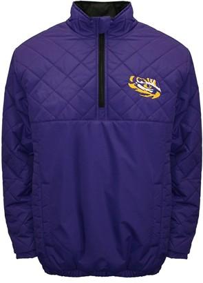 Adult Franchise Club LSU Tigers Clima Quarter-Zip Jacket