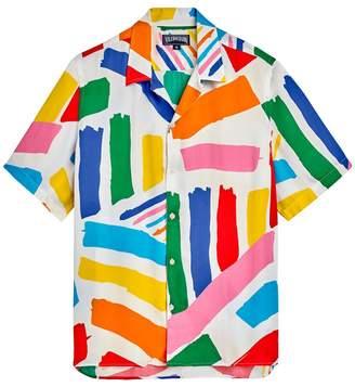 Vilebrequin x jean charles de castelbajac multicolor short sleeve shirt