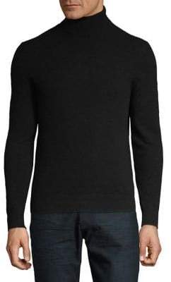 Black & Brown Black Brown Cashmere Turtleneck Sweater