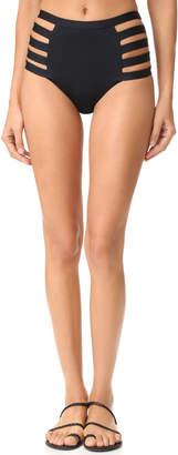 Vitamin A Neutra High Waist Bikini Bottoms $110 thestylecure.com