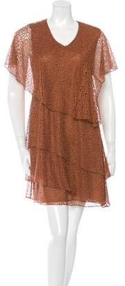 Givenchy Tiered Lace Dress