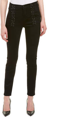 Blank NYC Crybaby Darkroom Lace-Up Skinny Leg