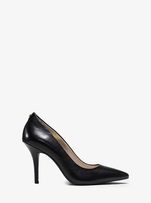 MICHAEL Michael Kors Flex Leather High-Heel Pump