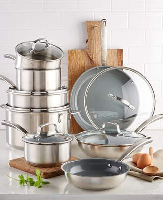 Martha Stewart Collection Culinary Science by Collection 14-Pc. Cookware Set