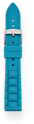 Fossil 18mm Tidal Blue Silicone Watch Strap