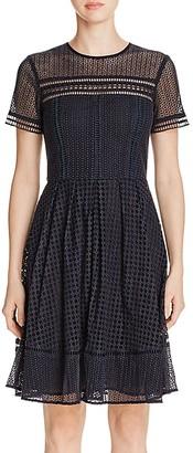 MICHAEL Michael Kors Eyelet Cutout Dress $255 thestylecure.com