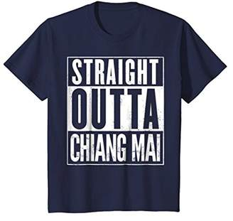 Straight Outta Chiang Mai Thailand Funny T-Shirt