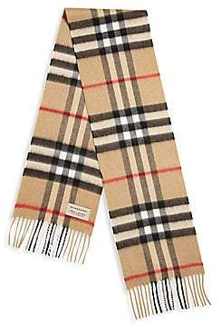 Burberry Kid's Explode Check Cashmere Scarf