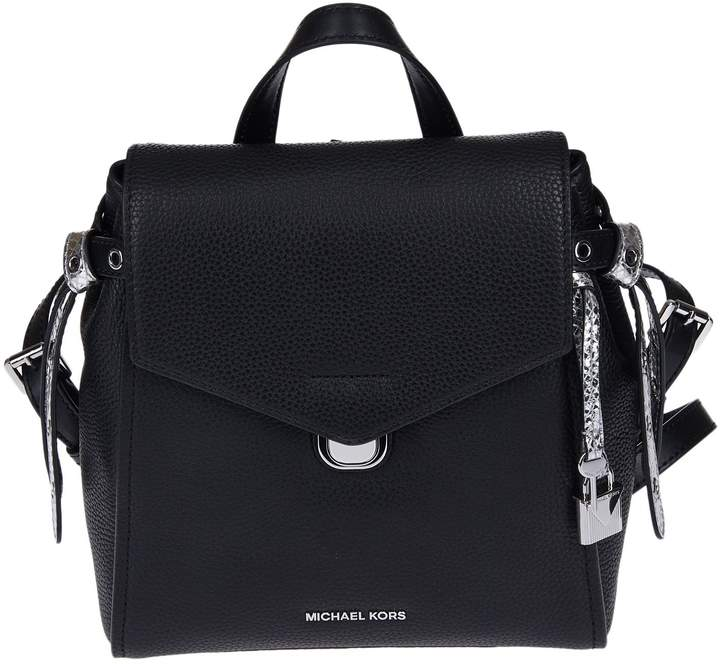 Michael Kors Michael Bristol Backpack - BLACK - STYLE