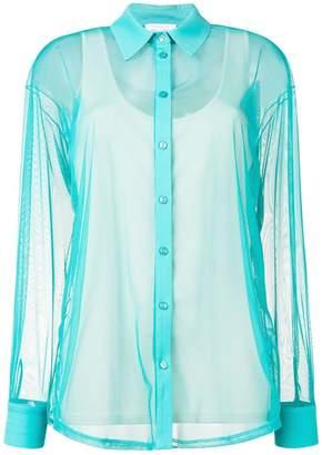 Patrizia Pepe sheer shirt