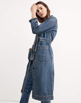 Madewell Denim Duster Coat