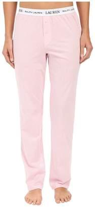 Lauren Ralph Lauren Pants w/ Logo Elastic Women's Pajama
