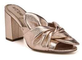 Sam Edelman Oda Metallic Sandals