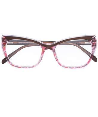 Emilio Pucci cat eye glasses