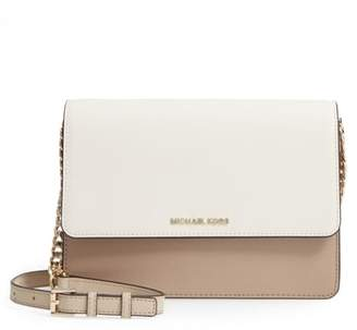 MICHAEL Michael Kors Large Daniela Colorblock Leather Crossbody Bag