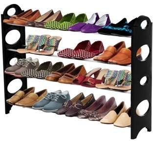 ForHauz Shoe Organizer 20 Pair Storage Rack for Closet or Entryway