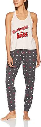 New Look Petite Women's Goodnight Kiss Pyjama Sets