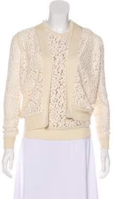 Chloé Wool-Blend Cardigan Set