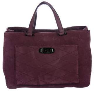 Rebecca Minkoff Quilted Suede Tote
