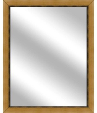 PTM Images Vanity Mirror, Antique Gold, 24.75x30.75