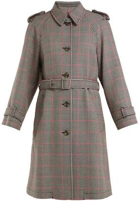 RED Valentino Houndstooth trench coat